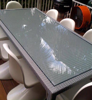 Glass Is The Perfect Way To Protect Your Tabletop. It Makes A Wooden  Surface So Much More Useable. There Are Many Options For Glass Tabletops,  ...